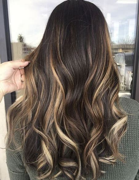 top  hottest balayage hair colors   brunettes
