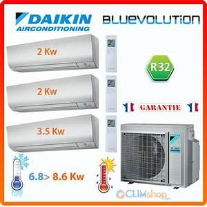 Bien Utiliser Sa Clim Reversible : prix bas tri split au r322 daikin 3mxm68m 2 ftxm20m 1 ~ Premium-room.com Idées de Décoration