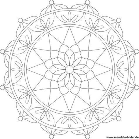 Zartes florales mandala für erwachsene. Besondere Mandalas für Erwachsene zum Ausdrucken