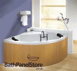 Custom Made Lancaster Oak Mdf Flexible Bath Panel Ideal