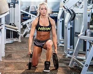 Build Legs You'll Love: Ashley Hoffmann's Leg Workout ...