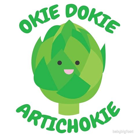 """Okie Dokie Artichokie"" Metal Prints by babybigfoot ..."