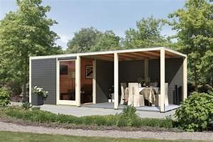 Gartenhaus Modern Kubus : gartenhaus karibu cubus mit eckt r holz haus bausatz pultdach flachdach modern ebay ~ Whattoseeinmadrid.com Haus und Dekorationen