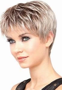 Model Coiffure Femme : coupe de cheveux court femme 60 ans ~ Medecine-chirurgie-esthetiques.com Avis de Voitures