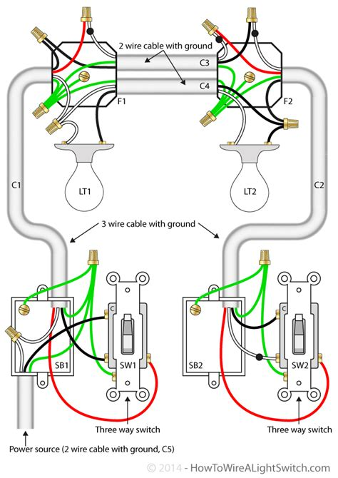 Electrical Expand This Three Way Switch Diagram