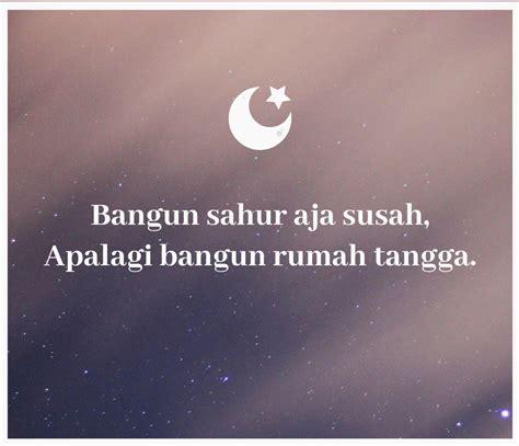 gambar lucu romantis  baper tentang bulan puasa