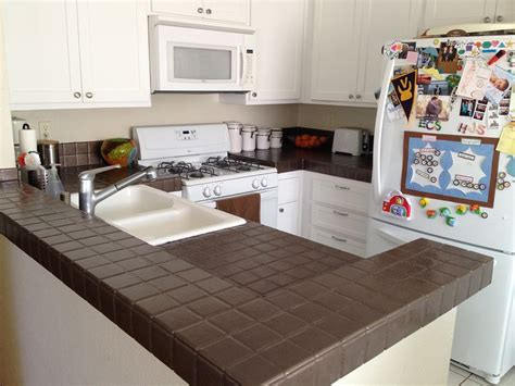 can you paint kitchen tile countertops interior redesign diy kitchen countertop fix the 9361