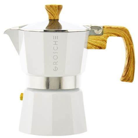 Before releasing italian stovetop coffee maker, we have done researches, studied market research and reviewed customer feedback so the information we provide is the latest at that moment. MILANO Italian Coffee Maker Stovetop Espresso Maker | GROSCHE