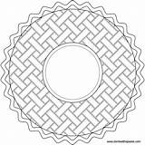 Coloring Pie Pi Pages Mandala Transparent Happy Eat Circle Pattern Paste Embroidery Colouring Patterns Blank Version Don Related Piday Mandalas sketch template