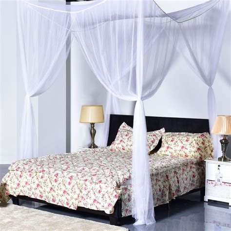canopy brand sheets goplus 4 corner post bed canopy mosquito net