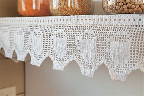 Shelf and Curtain Trim   Knitting Patterns and Crochet