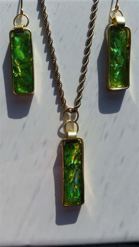 Spring Green CD Jewelry - Jewelry Making Journal
