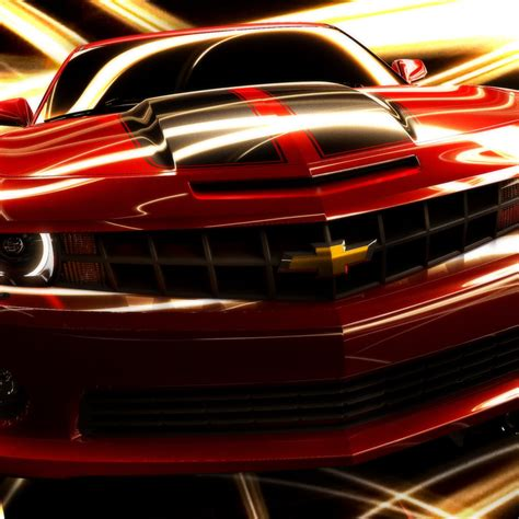 Chevrolet Camaro (red) Hd Wallpaper