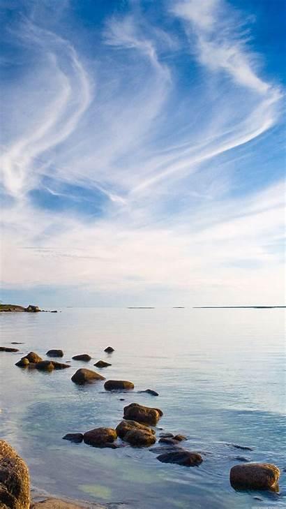 Vertical Wallpapers Sea 1440 2560 Sky Water