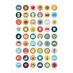 Icon Flat Illustrated สวย าร Icons ฟร