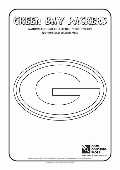 Coloring Packers Bay Pages Nfl Football Logos