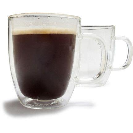 Target/kitchen & dining/tall ceramic coffee mugs (1907). Bodum® Tall Bistro Coffee Mugs, Set of 2 | Mugs, Glass coffee mugs, Coffee mugs