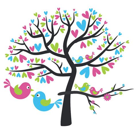 Love Birds In Tree Clipart  Clipart Panda  Free Clipart