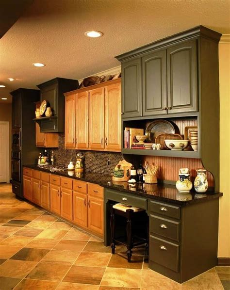 popular kitchen cabinet colors modern kitchen paint colors with oak cabinets 4316