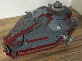 build my corvette custom lego wars imperial patrol ship with commander