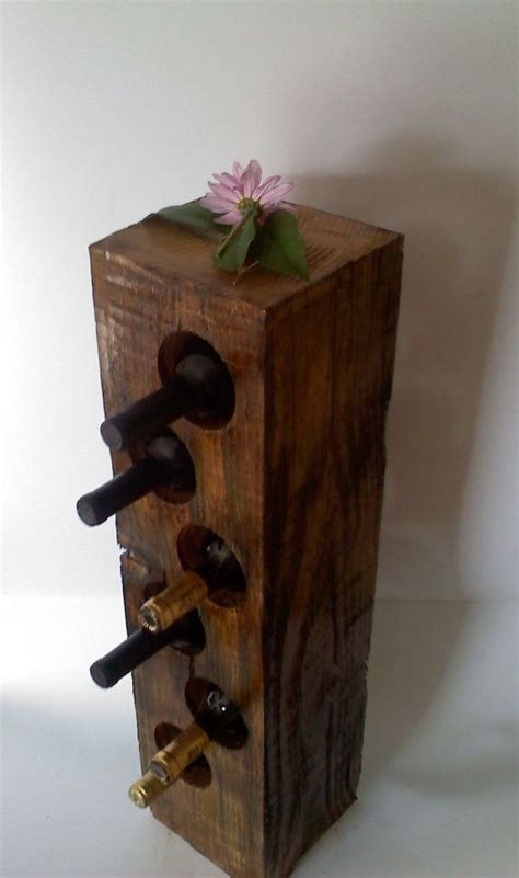 solid wood wine rack woodworking projects plans