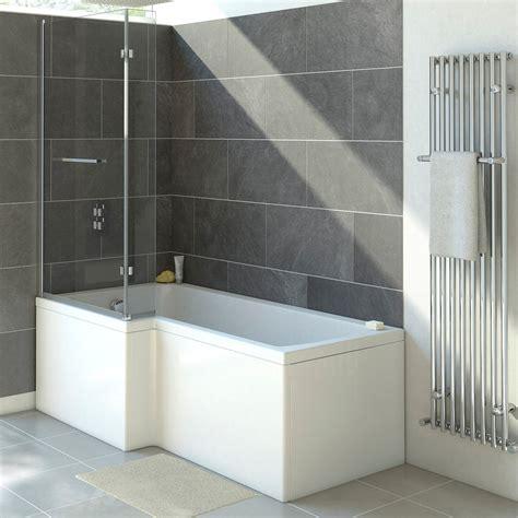 What Is A Shower Bath by Trojan 1800mm L Shaped Shower Bath Uk Bathroom Solutions