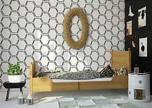 jugendzimmer ideen die besten design und einrichtungstipps With markise balkon mit selbstklebende tapete schwarz weiss