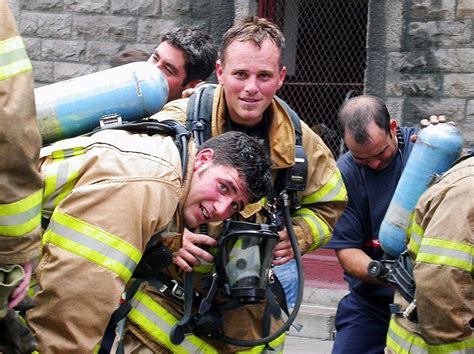 Firemen at work I, a photo from Quebec, Central ...