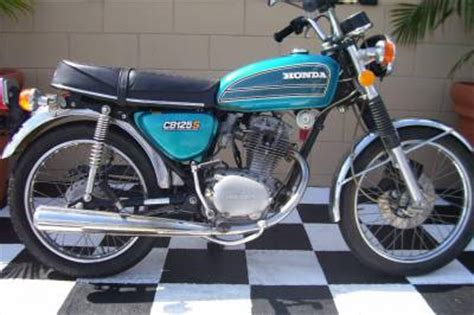 1975 honda cb125s for sale used motorcycle classifieds