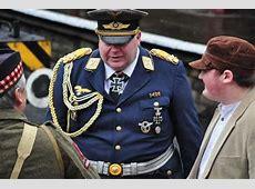 Nazi uniforms at Wartime Weekend in Ramsbottom in 2012