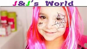 Maquillage D Halloween Pour Fille : halloween maquillage de petite sorci re pour halloween facile et rapide youtube ~ Melissatoandfro.com Idées de Décoration