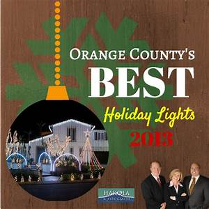 Best Holiday Lights in Orange County 2013
