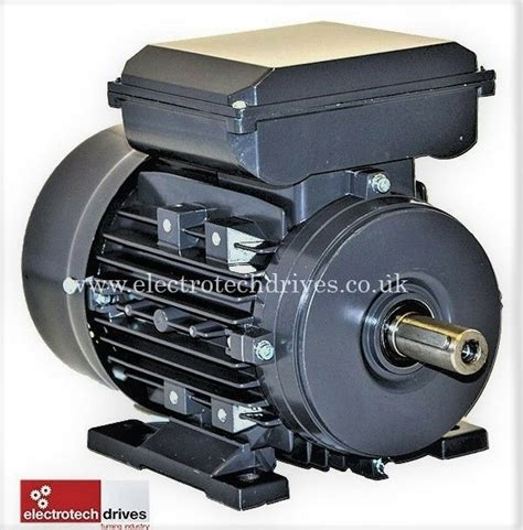 Electric Motors Uk by Single Phase Electric Motor 0 18kw To 4kw 240v 1400rpm And