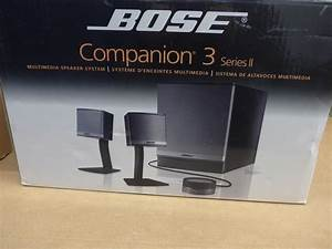 Bose Companion 3 Series Ii Computer Speaker System