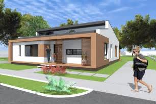 Stunning Bungalow Architectural Style Ideas by Small Modern Bungalow House Design 133 Square Meters
