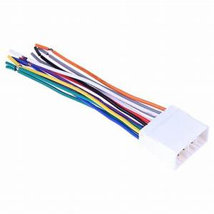 Vodool Stereo Cd Player Radio Wiring Harness 14pin Wire Adapter Plug For Subaru High Quality Car