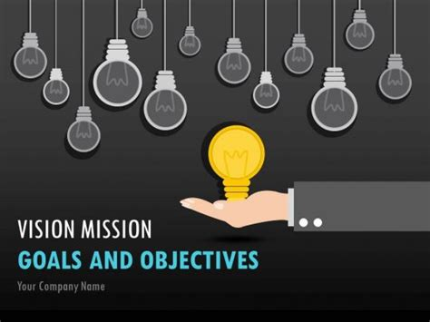 vision mission goals  objectives powerpoint