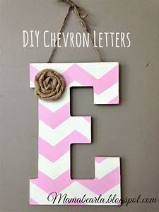 Musings of a mama bear how to make chevron letters for Making wooden letters