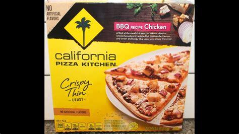 california pizza kitchen bbq recipe chicken review youtube