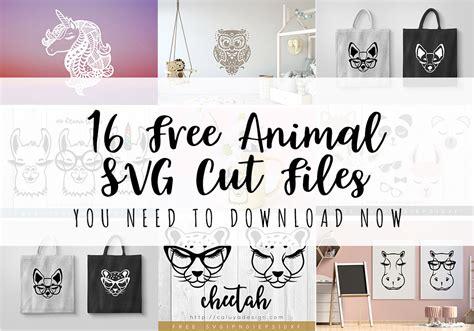 animal svg cut files