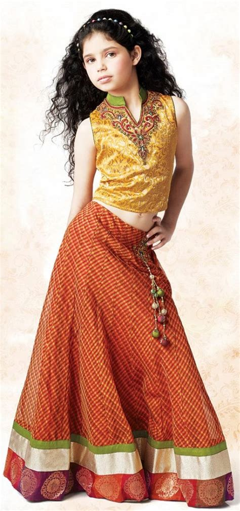 stylish dresses lehenga choli kids sharara indian dress designs