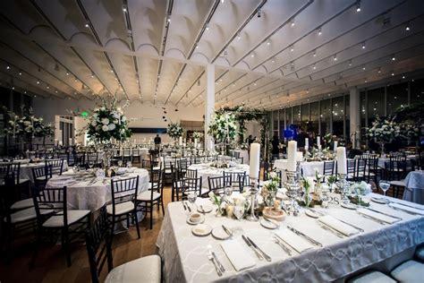 lush indoor garden wedding   high museum  art