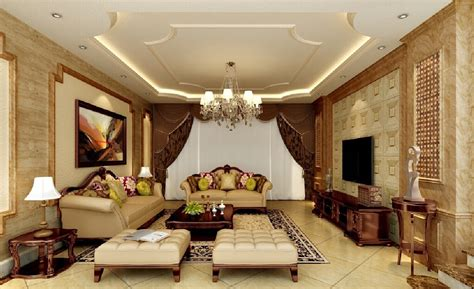 Classical Living Room Furniture 3d uk living room with neo classical style furniture