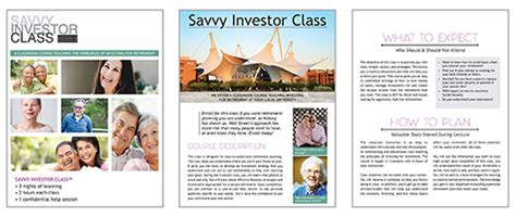 upcoming classes savvy investor class