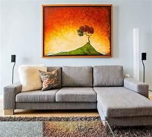 Gemälde Für Wohnzimmer : farben f r wohnzimmer hellblaue wand orange gem lde dise o interior pinterest farben f r ~ Markanthonyermac.com Haus und Dekorationen