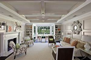 odd shape room living room contemporary with tray ceiling