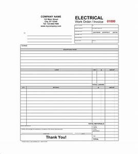 Make Your Own General Contractor Invoice Template