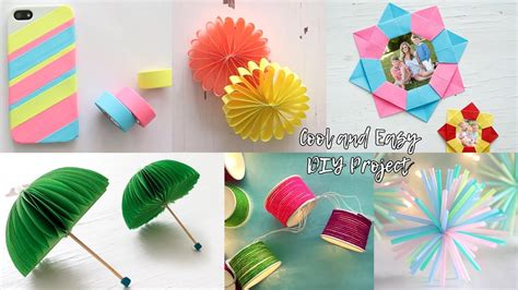 cool  fast diy projects craft ideas