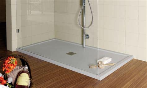 Begehbare Dusche Mineralguß 120 X 100