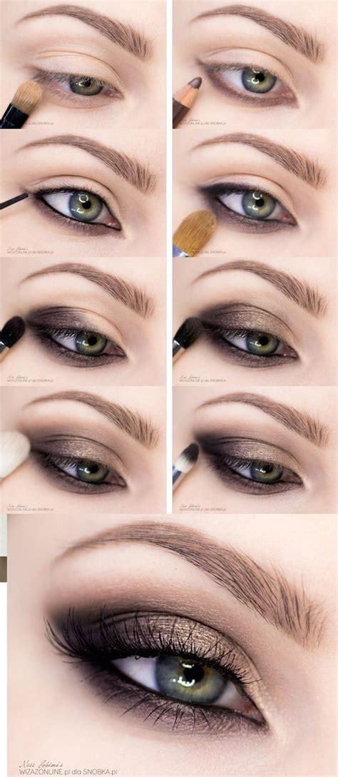 quick easy step  step smokey eye makeup tutorials